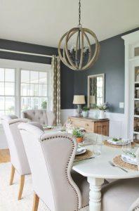 Colores de moda para paredes de comedor | Decoracion de interiores ...