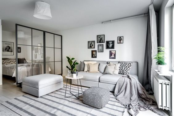 decoracion de departamentos modernos ideas para depas. Black Bedroom Furniture Sets. Home Design Ideas