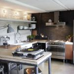 decoracion industrial en cocina