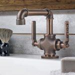 decoracion industrial para baño