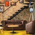 decoracion industrial para salas
