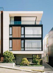 Departamentos modernos fachadas