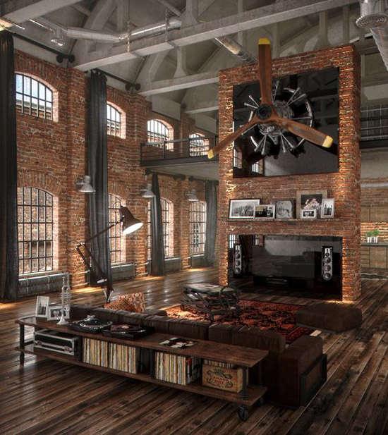 Estilo industrial historia curso de decoracion de - Estilos de decoracion de interiores ...
