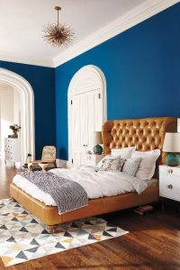 Interiores color azul