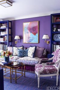 Interiores color relacionado con el cosmos