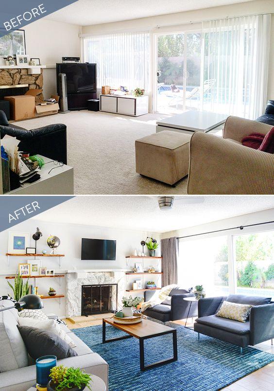 Reformas de casas antes y despues decoracion de interiores interiorismo decoraci n decora - Decoracion de casas antes y despues ...