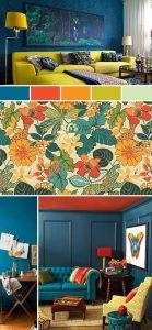 Colores para el diseño de interiores 2018 - 20194