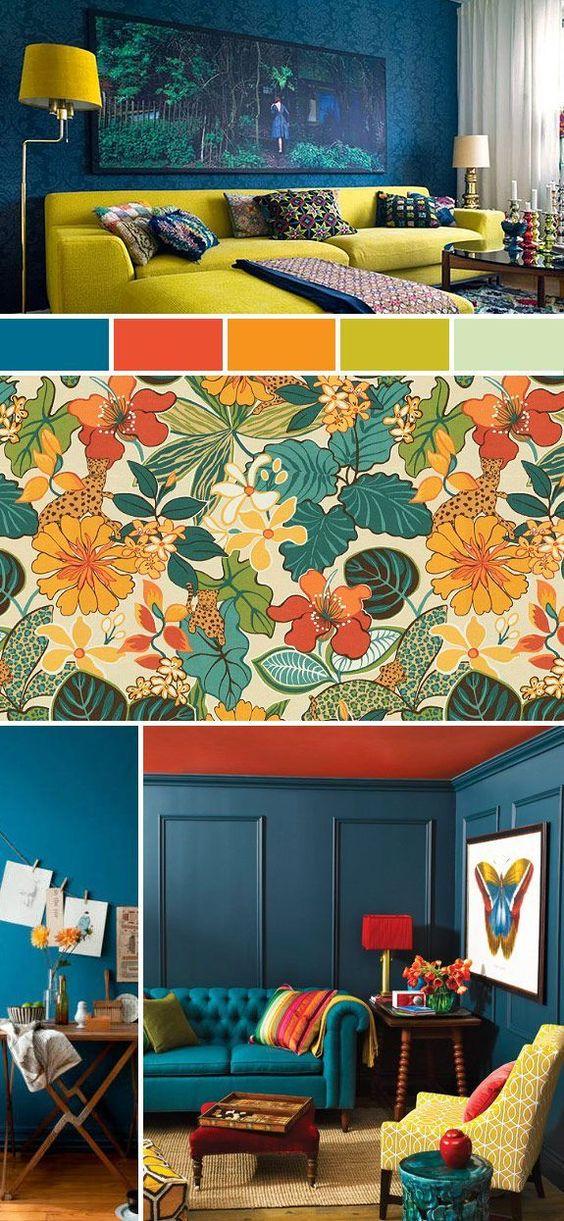 Colores para el diseño de interiores 2019