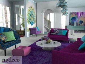 Colores para el diseño de interiores 2018 - 20195
