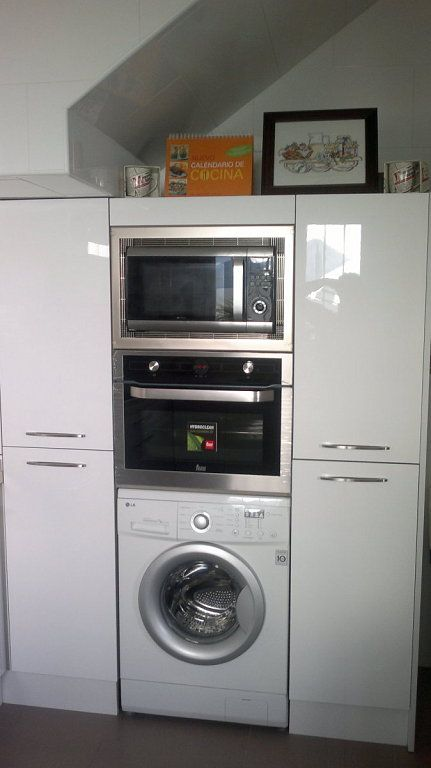 Como instalar lavadora en la cocina