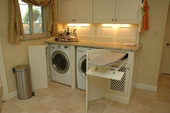 Donde poner la lavadora en casa consejos e ideas de organizaci n - Lavadora en la cocina ...