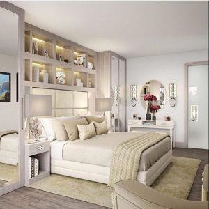 Diseño de interiores para recamaras 2018 - 2019