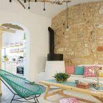 Salas de estar estilo mediterraneo