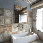 baños estilo campestre