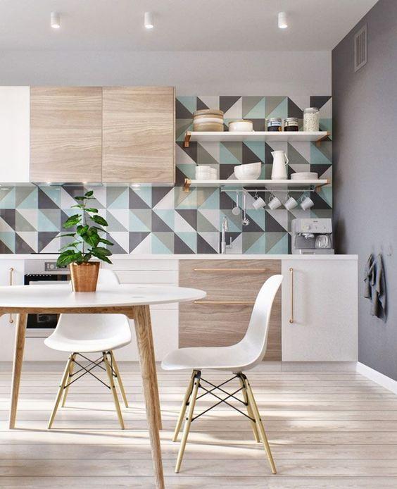 decoracion de cocinas con tapiz