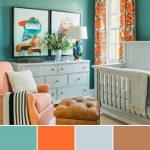 paleta de colores para cuartos de bebes
