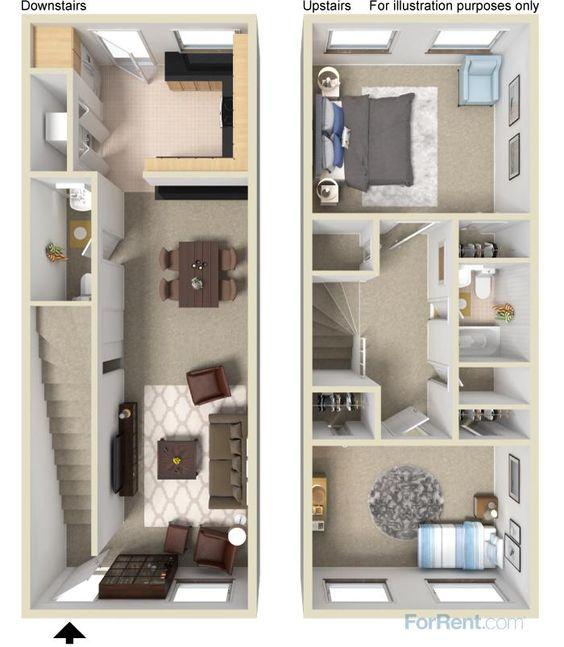 Planos de casas de dos pisos peque as curso de for Planos de casas de dos pisos pequenas gratis