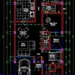 planos de dos pisos con autocad