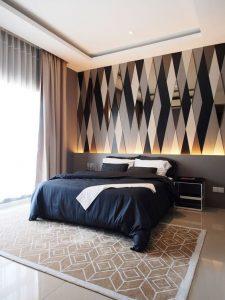 Recamaras decoradas con papel tapiz
