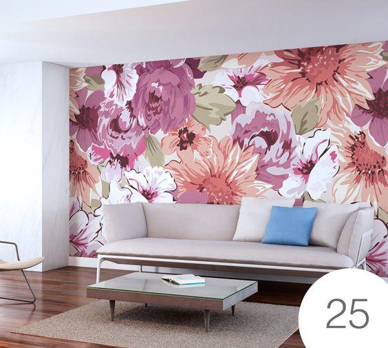 salas decoradas con tapiz