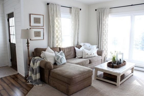 Decoración de salas pequeñas para casas de infonavit