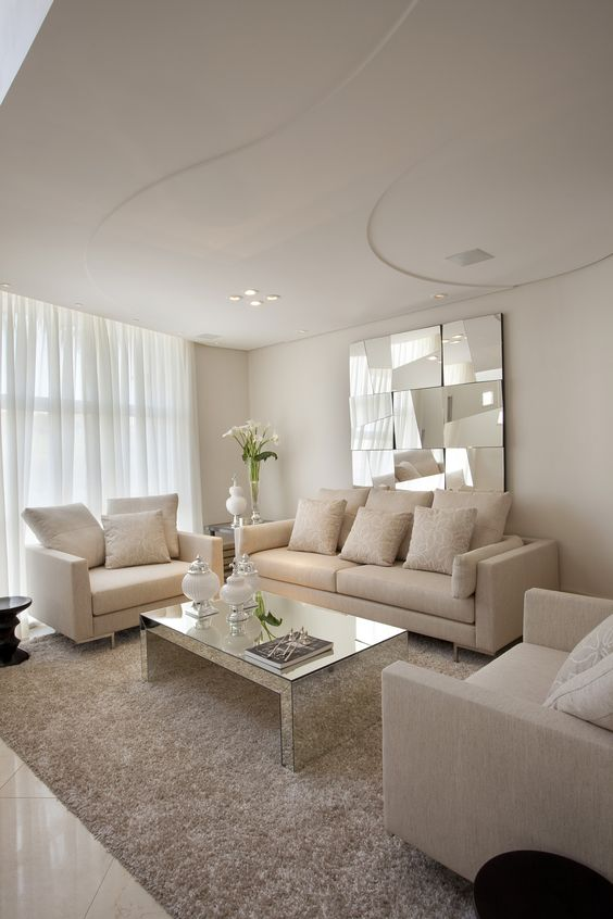 Decoración de salas pequeñas para casas de interés social