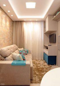 Sofá cama para decoración de salas pequeñas