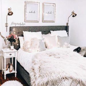 cojines de peluche para decorar habitaciones modernas