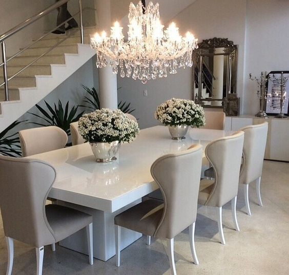 comedores modernos de 8 sillas | Curso de Decoracion de interiores ...