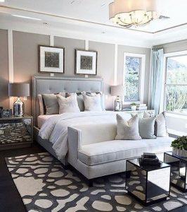habitaciones modernas con muebles de espejo