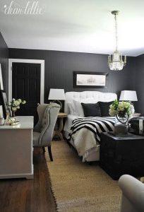 habitaciones modernas con sillones tapizados