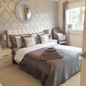 habitaciones modernas con tapiz