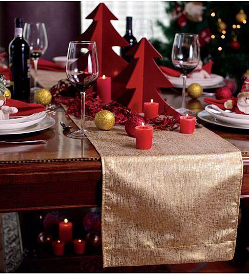 adornos navideños para el comedor