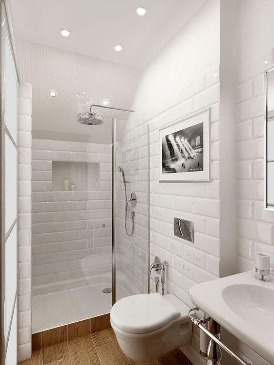 baños pequeños con ducha