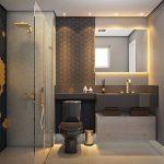 baños pequeños modernos y elegantes