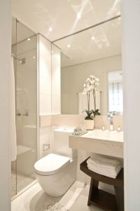 baños pequeños modernos y funcionales