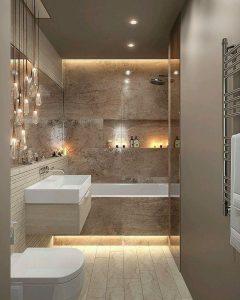baños pequeños y modernos