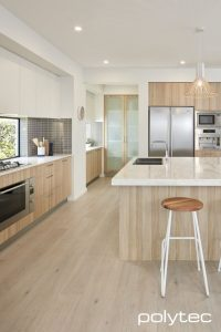 Cocinas de madera modernas minimalistas