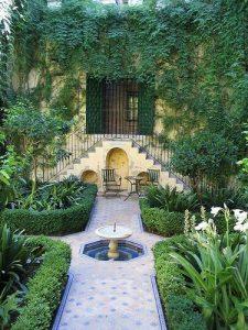 Colores para un jardín clásico