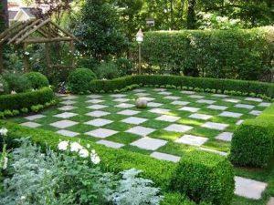 Diseños de pisos para jardines clásicos