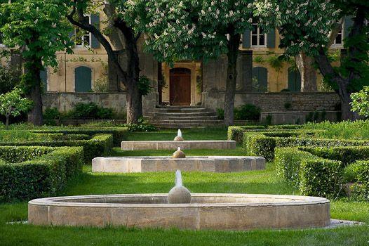 Estructura del jardín clásico