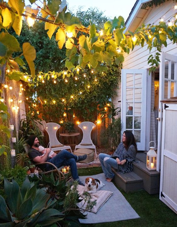 Fotos de iluminaci n de jardines peque os curso de decoracion de interiores interiorismo - Iluminacion jardines pequenos ...