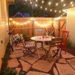Fotos de iluminación de jardines pequeños