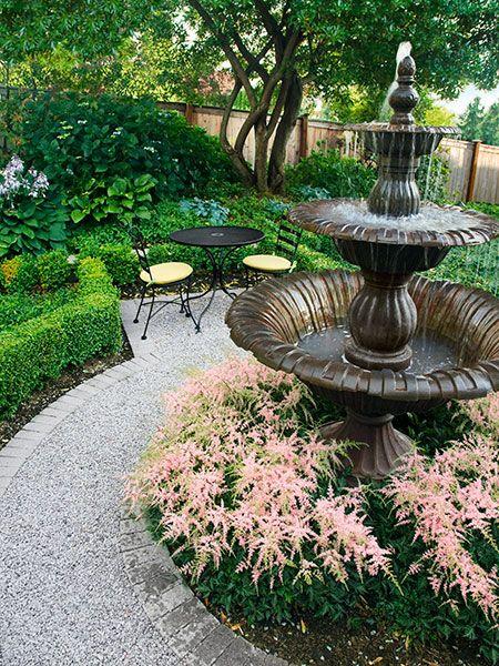 Como Decorar El Jardin Con Fuentes Ideas Para El Jardin - Ideas-de-jardin