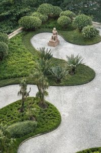 Ideas para jardines clásicos grandes