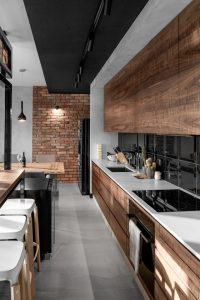 Imágenes de cocinas de madera modernas