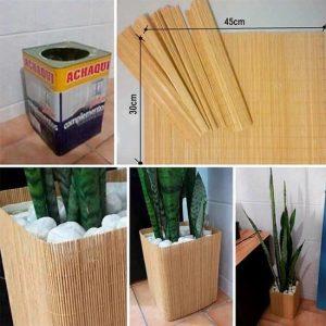 Manualidades con palitos de madera
