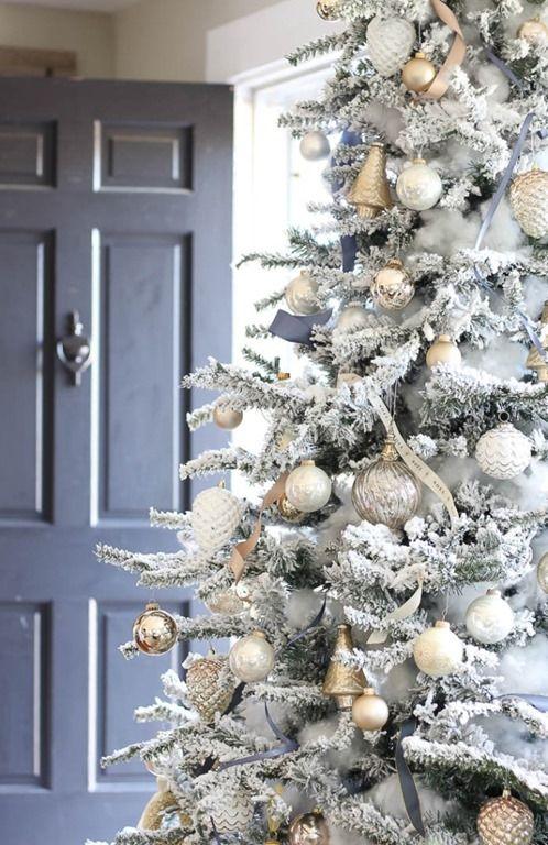 arbol de navidad en plata