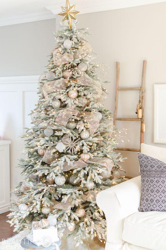 Color de decoración de arbolito de navidad para el año 2018 - 2019