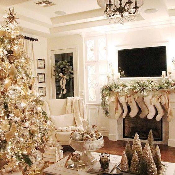 color de decoracion de arbolito de navidad